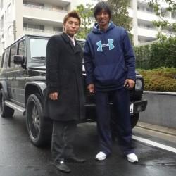 東京ヤクルトスワローズ 城石憲之選手 大橋未歩アナウンサー ご夫妻に メルセデスベンツ G500L をご納車させて頂きました。