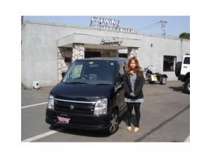 埼玉県入間市にお住まいのS様に20年 ワゴンR FX-S LTD をご納車させていただきました。