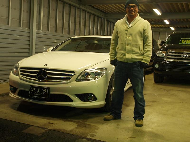 東京ヤクルトスワローズ 石井弘寿投手に メルセデスベンツCL をご納車させて頂きました。 | キャルウイング | 輸入車販売店