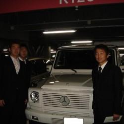東京ヤクルトスワローズ石川選手にご納車させて頂きました。