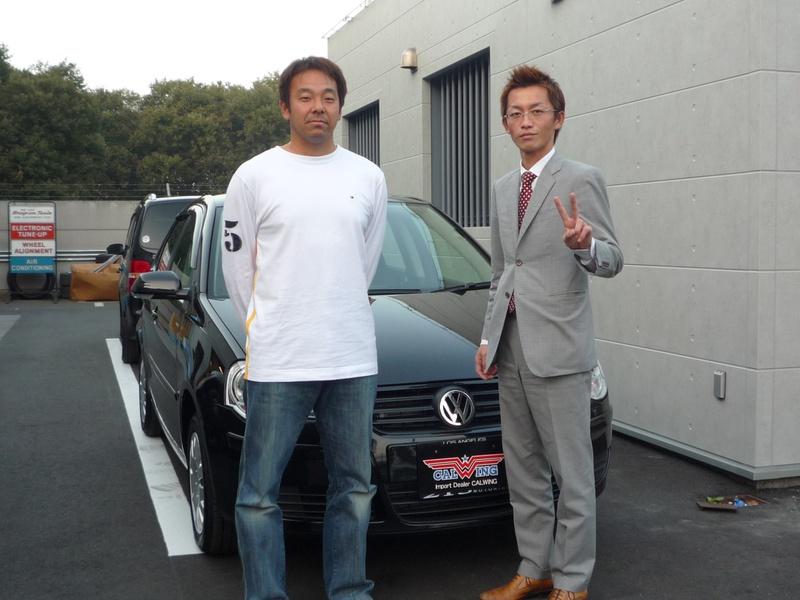 埼玉西武ライオンズ #57 谷中 真二投手に フォルクスワーゲン ポロ 新車をご納車させて頂きました。