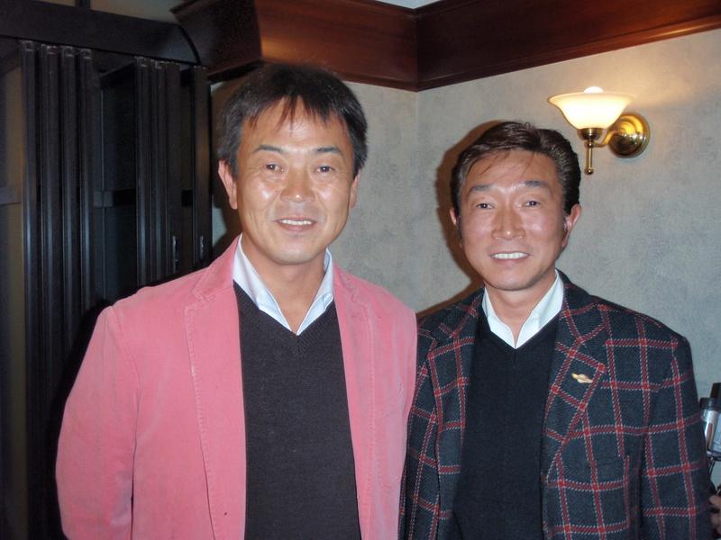 中畑 清さん 『きよしのドリームチャリティーゴルフ』にご招待をいただきました。