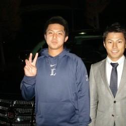 埼玉西武ライオンズ #31 坂田 遼選手に新車 キャデラック エスカレード をご納車させて頂きました。