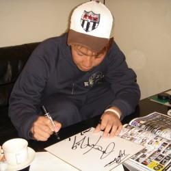 北海道日本ハムファイターズ 金森敬之選手がご来店されました。