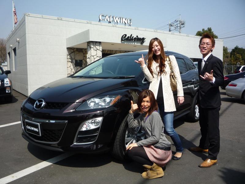 埼玉県北本市にお住まいのM様に、新車 マツダ CX-7をご納車させて頂きました。