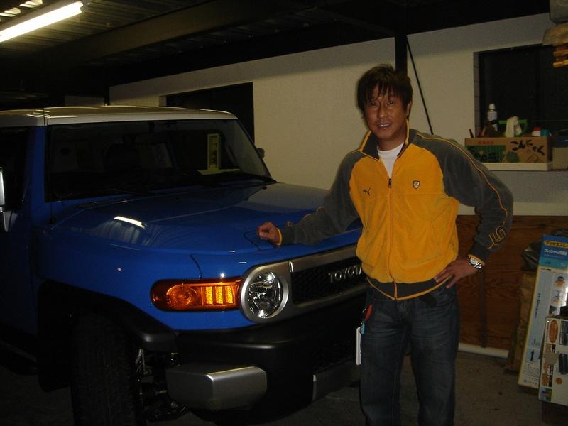 現スポーツコメンテーター兼人気タレント 元巨人軍 宮本和知さんにFJ CRUISERをご納車させていただきました!