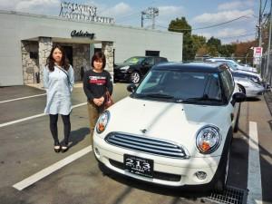 東京都東大和市のI様にBMW MINIクーパー クラブマン 新車をご納車させて頂きました。