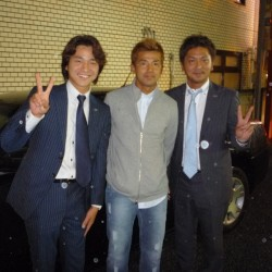 元東京ヴェルディ/日本代表  FC琉球の永井秀樹選手のお手伝いをさせていただきました。