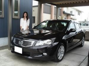 これで2台目となります! 富山県射水市のM様に 新車 ホンダ インスパイア をご納車させていただきました。
