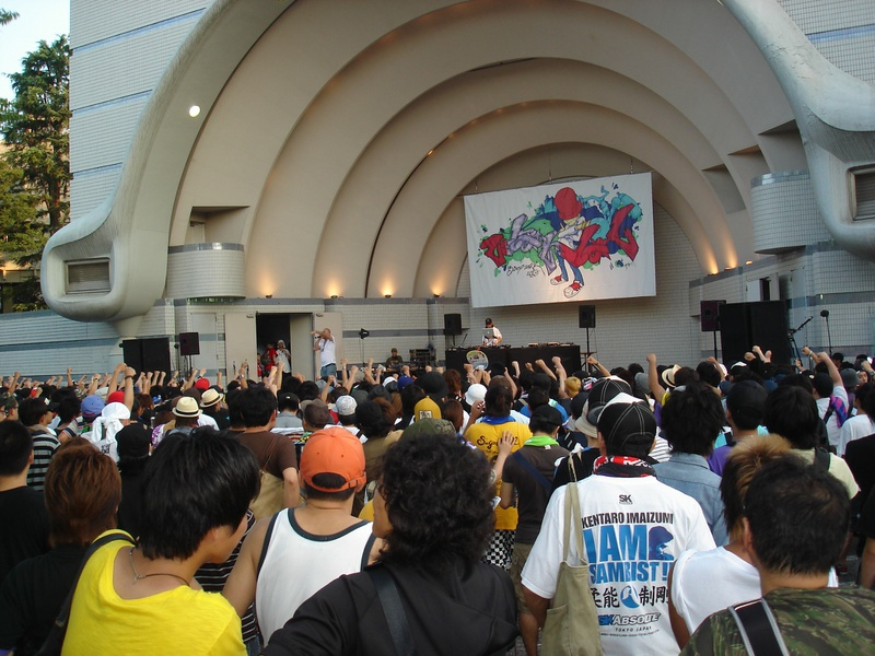 日本最大のHIPHOPイベント B-BOY PARK2010 に参加してきました。