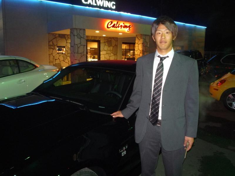 埼玉西武ライオンズ #32 浅村栄斗選手に 新車 マスタング GTプレミアム をご納車させて頂きました。