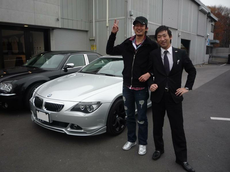 埼玉西武ライオンズ マネージャーの藤原様に BMW 645ciをご納車させて頂きました。