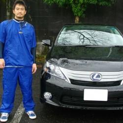 埼玉西武ライオンズ #22 野田浩輔選手に レクサス HS250h をご納車させて頂きました