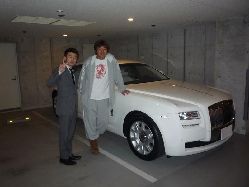 埼玉西武ライオンズ 石井一久投手に 新車 ロールスロイス ゴースト をご納車させて頂きました。