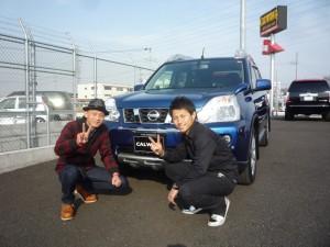 東京都府中市にお住まいのU様に 日産 エクストレイル カナダ仕様X-Trailをご納車させて頂きました。