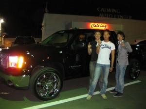 埼玉県志木市にお住まいのM様に 2008y GMC シエラ をご納車させて頂きました。