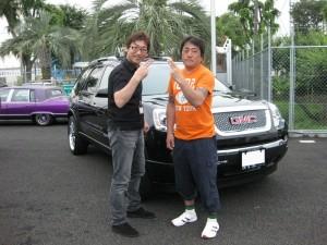 東京都青梅市にお住まいのF様に 2008y GMC アカディア をご納車させていただきました。