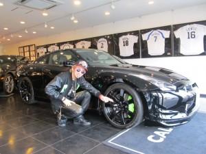 カリスマカンタローさんのNISSAN GT-Rをさらにカスタム!