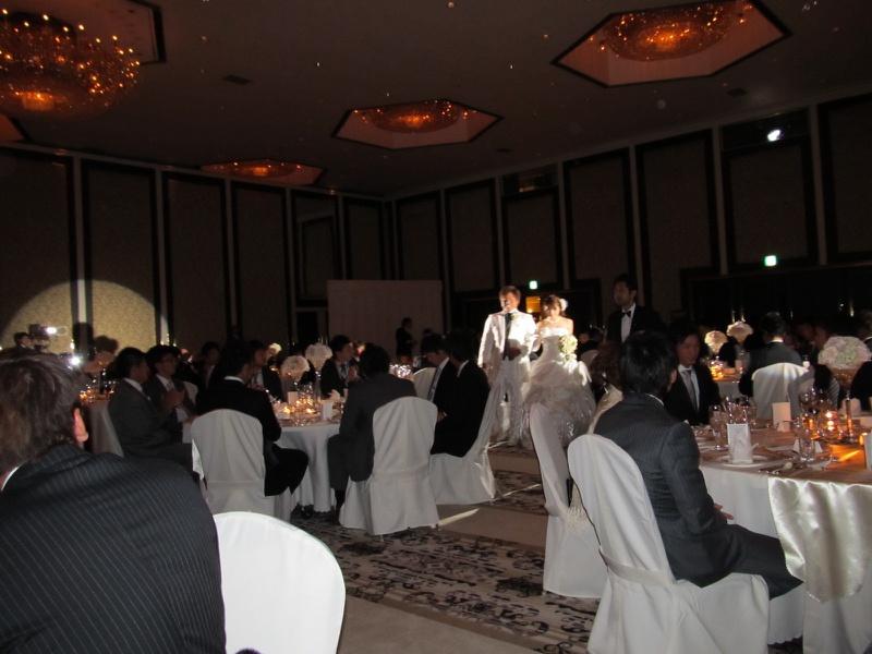 中日ドラゴンズ #40 平田良介選手の結婚式にご招待いただきました。