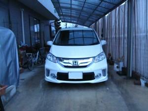 長野県上田市にお住まいのM社長様に、新車  ホンダ フリード ハイブリットをご納車させて頂きました。