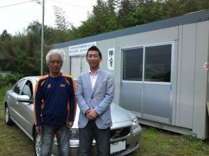 岩手県陸前高田市 広田湾漁業青壮年部 小友支部会長の山田様に ボルボS60 をご納車させて頂きました。