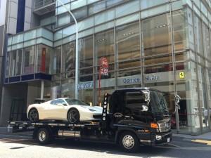 東京都のM社長様に、フェラーリ 458スパイダー をご納車させて頂きました。