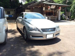 地元所沢の所澤神明社様へお車をご納車させて頂きました。