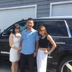 雑誌A-CARSの取材でモデルの佐山みさきさん、アイドルユニットblingblingの塚田綾佳さんが遊びに来てくださいました!