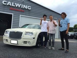 埼玉県のS社長様へクライスラー300 カスタムインテリアをご納車させて頂きました。