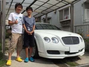 埼玉県のK社長様に ベントレー コンチネンタルGT をご納車させて頂きました。