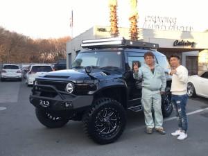 2台目のご購入有難う御座います!埼玉県にお住まいのI社長様に新車 トヨタ FJクルーザーをご納車させて頂きました。