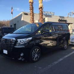 埼玉西武ライオンズ ♯3 浅村栄斗選手に新車 アルファード エグゼクティブラウンジをご納車させて頂きました。