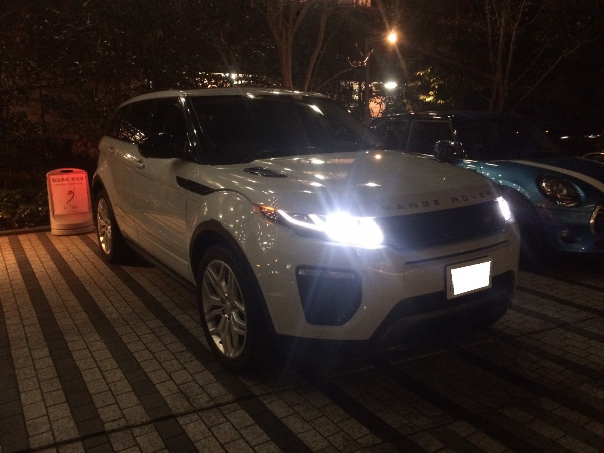 4台目のご購入有難う御座います! 東京都のS社長様に レンジローバー イヴォークをご納車させていただきました。