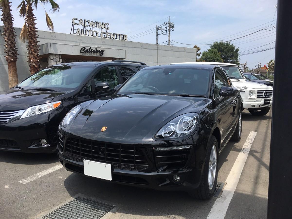 埼玉県のN様に ポルシェ マカンS ディーラー車 をご納車させて頂きました。