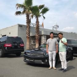 東京都のT様にシボレー カマロ 2SS STRUT&FORGIATOをご納車させていただきました。
