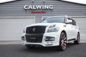 QX80 LARTE DESIGN LR3 Tuning Package Bodykit &Forgiato フォージーアート カスタム