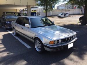 1990y BMW 735i E32 WHEEL AVANGARDE カスタム!