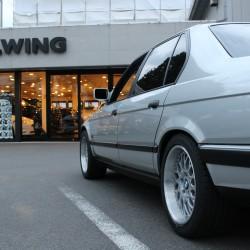 1990y BMW 735i E32 フルレストア アヴァンギャルド AVANGARDE ホイール カスタム