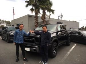 千葉県のW様に新車 ダッジラム 希少車レベルをご納車させて頂きました!