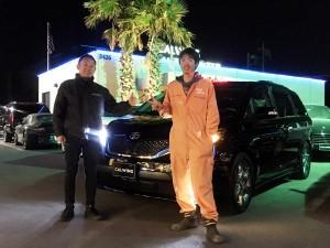千葉県のS様に USトヨタ シエナ をご納車させて頂きました。