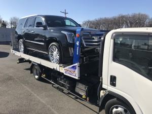北海道のK様に新車 キャデラック エスカレード プラチナムをご納車させて頂きました。