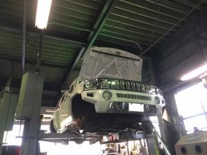 ハマー H3 前後ローター ブレーキパット 点検 交換 修理