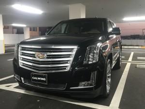 兵庫県のA社長様に 新車 キャデラック エスカレード プラチナムをご納車させていただきました。