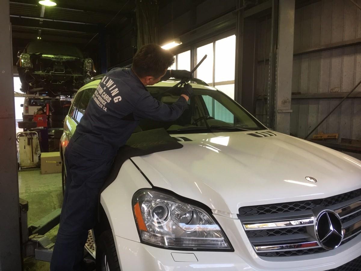 本日の工場 車検 修理 診断 お任せください!