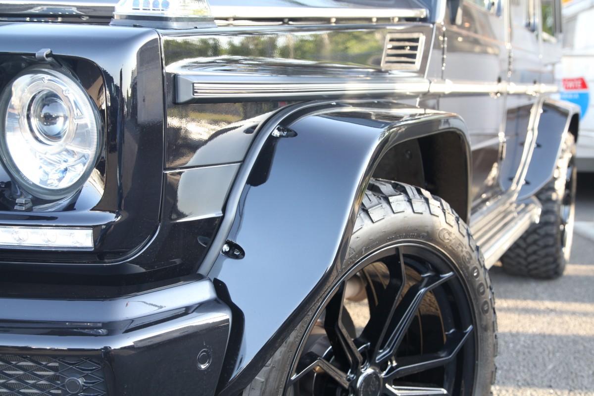 メルセデスベンツ G550 ゲレンデ W463  CALIFORNIA MUDSTAR カリフォルニアマッドスター アバンギャルド AG カスタム