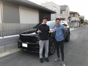 千葉県のK様に新車 ダッジ  デュランゴ RTをご納車させて頂きました。