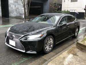 東京都のO社長様にレクサス LS500 エクスクルーシブご納車させて頂きました。