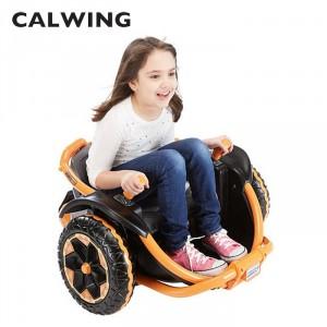 電動乗用 スリルライド360度高速回転 ライドオン ワイルドシングス 12V オレンジ