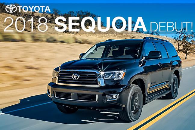 新車カタログに 2018年 USトヨタ セコイア を更新致しました。
