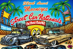 MOONEYES が開催する国内最大級のCar Show & Swapmeet 32nd Annual MOONEYES Street Car Nationalsに参加してきました!!
